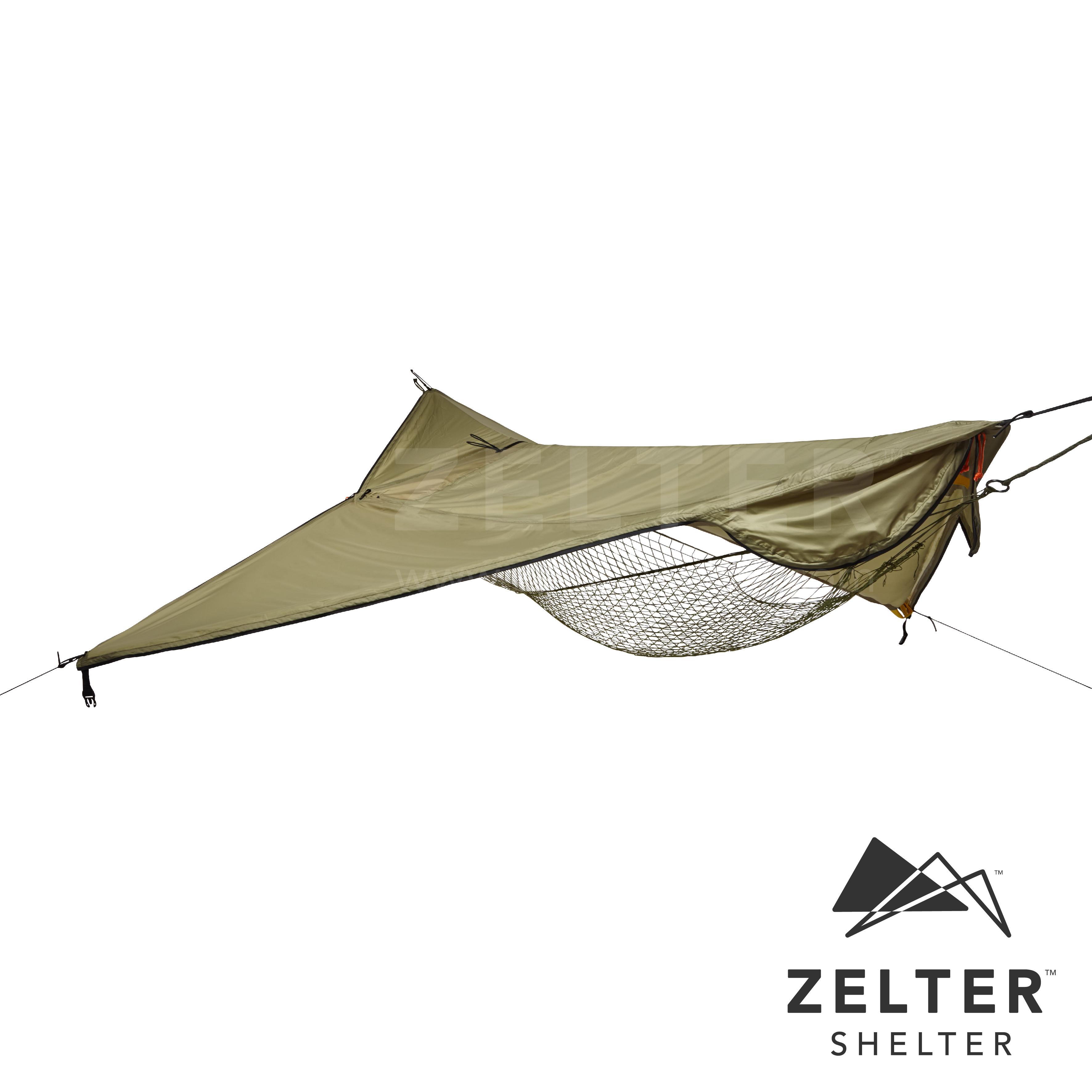 Zelter Tent/Tarp (Mystery Green)