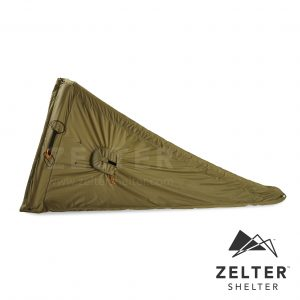 Wearable Shelter Left Side - Tent, Green