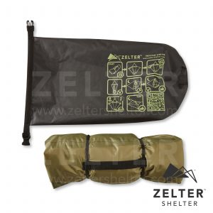 Tent/Tarp Drybag, printed instruction manual