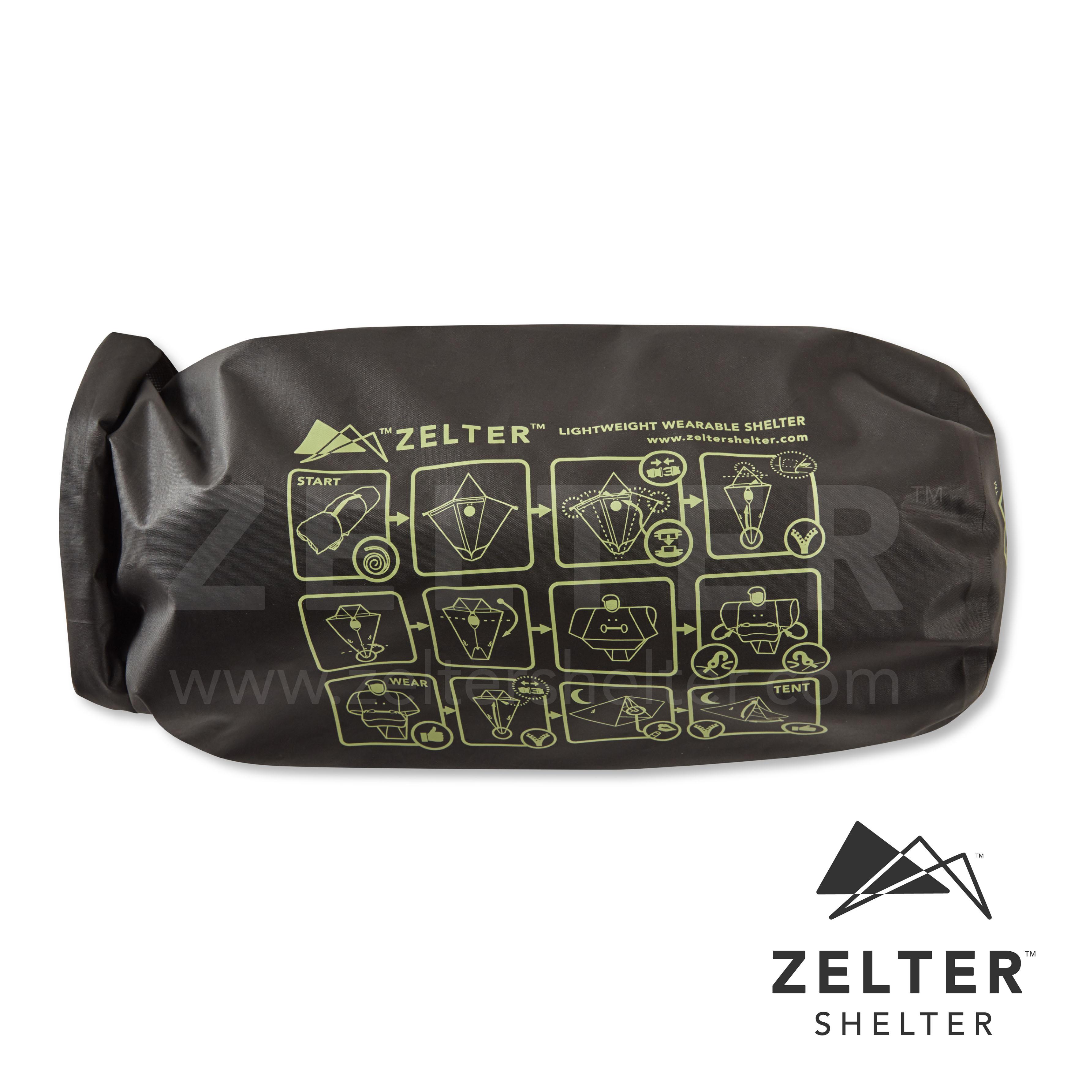 Zelter Shelter (Mystery Green)